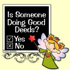 doing good deeds