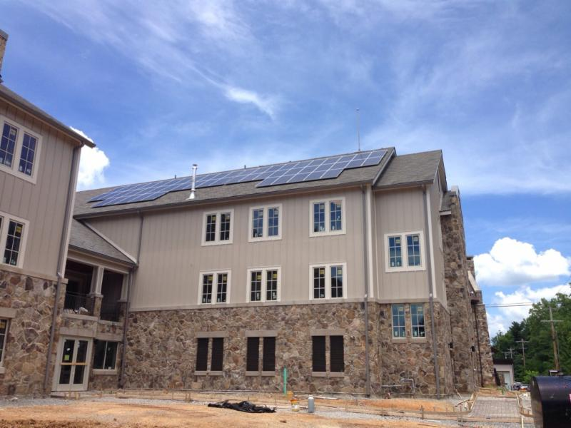 Solar installation at Sewanne University