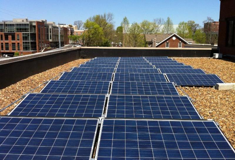 Mountain Group Partners solar panels