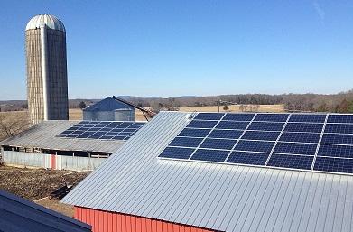 Solar at TN Farm by LightWave Solar