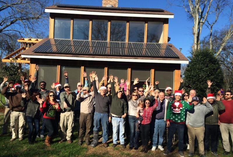 LightWave Solar celebrates the season