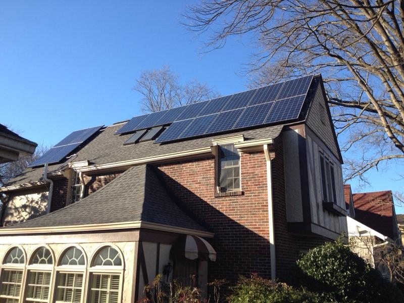 Nashville Solar panels by LightWave Solar