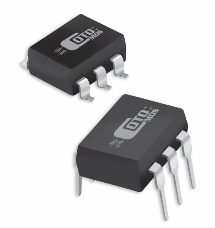 CotoMOS 124 and 128 series are available in both DIP and SMD packages