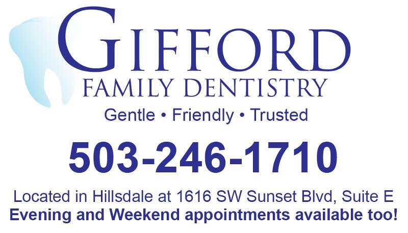 Gifford sponsorship ad
