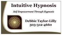 Hypnotherapist ad