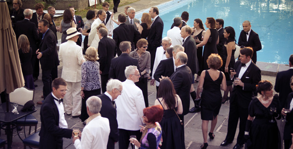 Guests of the summer gala