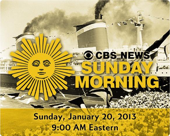 CBS Sunday Morning, Jan. 20, 2013
