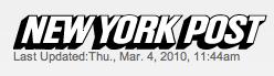 New York Post Masthead