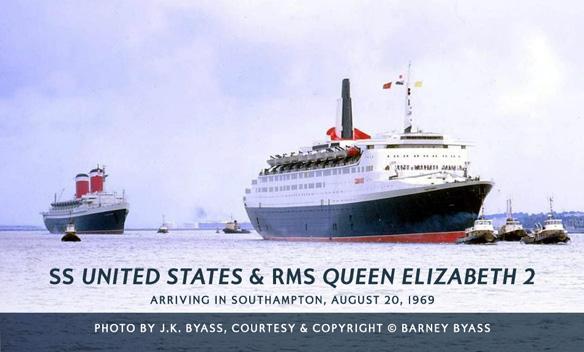 SS United States & Queen Elizabeth 2