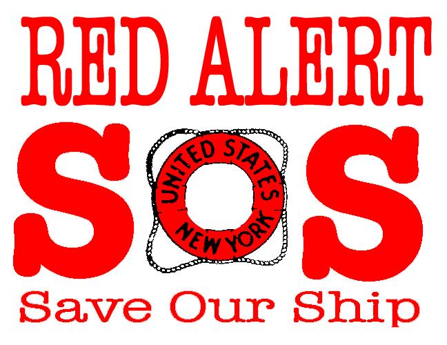 SOS Red Alert Logo