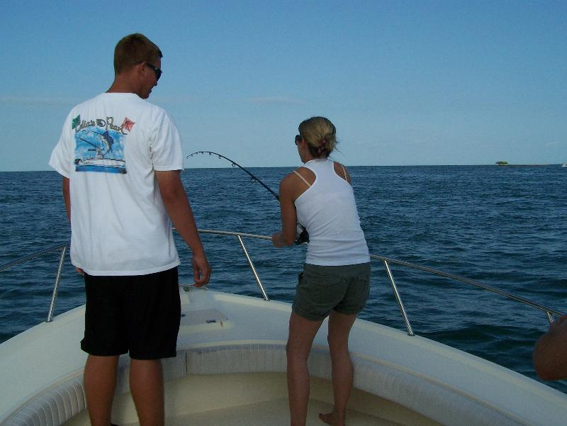 This week 39 s catches new garman gps cobia tagging for Florida keys fishing resorts