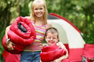 Camping at Depot Lakes