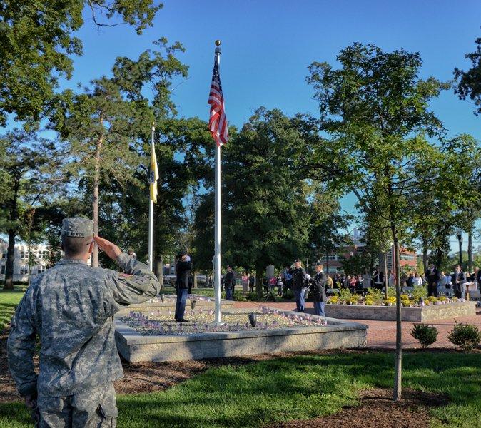 9/11 Memorial - ROTC