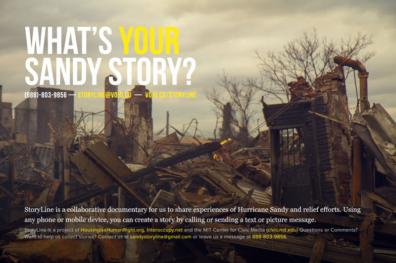 what's your sandy story?