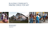 building community: making space for art
