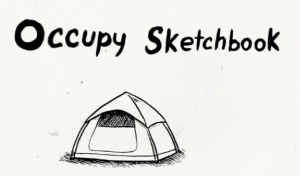 occupy sketchbook