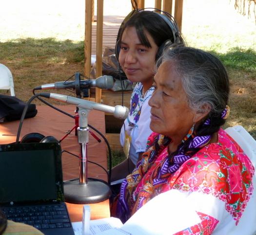 Radio Bilingue at Smithsonian Folklife Festival