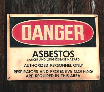 Asbestos Danger!