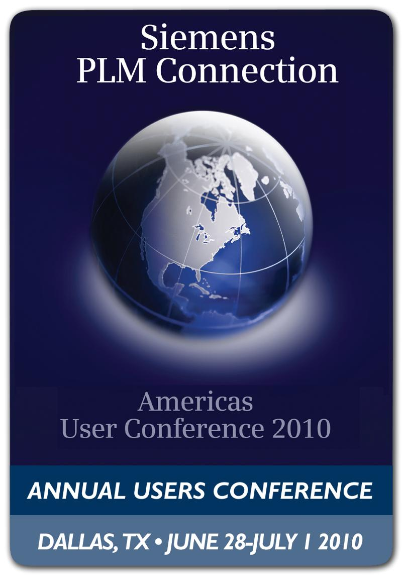 Conference Logo with ribbons
