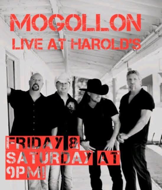 Mogollon Live at Harold's