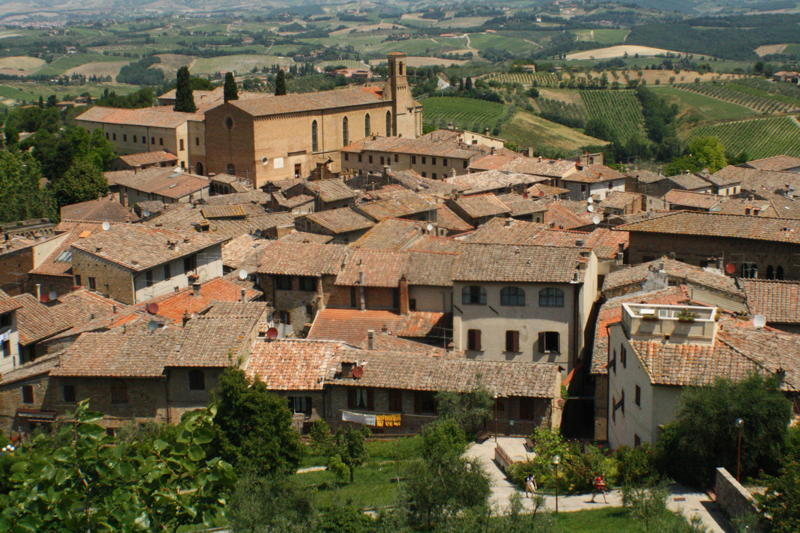 Rob Burrows 1364BN - San Gimignano