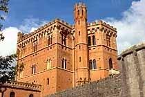 Castello di Brolio view