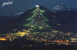Christmas Tree Gubbio