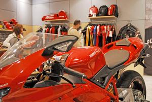 Ducati shop, Bologna