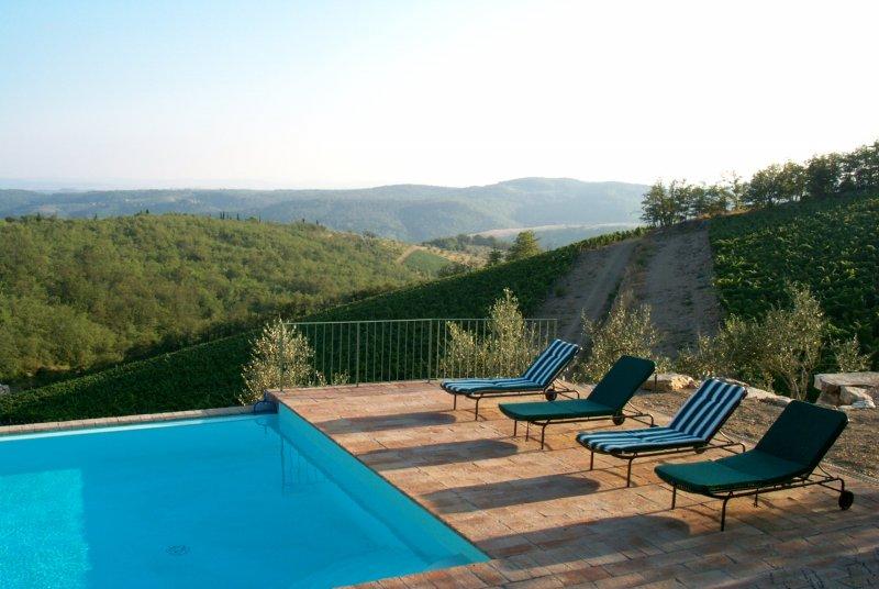 Villa Valliole swimming pool