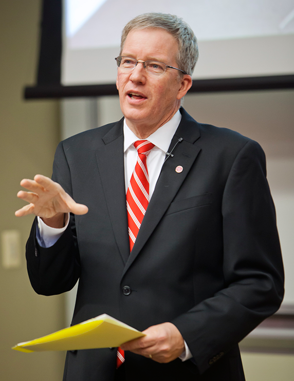 Provost Michael D. Johnson