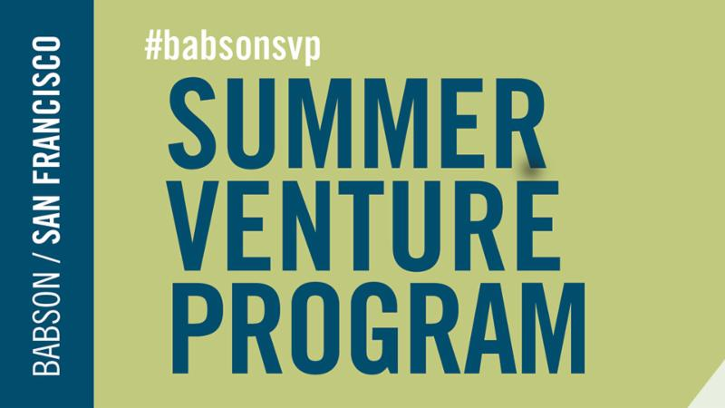 Summer Venture Program San Franscisco