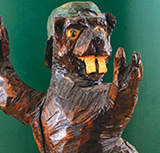 Beaver Statue