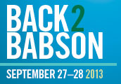 Back to Babson 2013