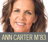Ann Carter M'83