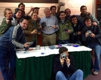 Gary DiCamillo and Students