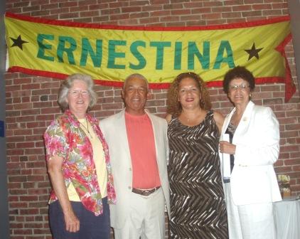 M.McQuillan, Gene & Bonita  Monteiro, and Laura Pires Hester CVN MultiMedia