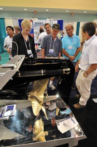 IBEX exhibit hall engine