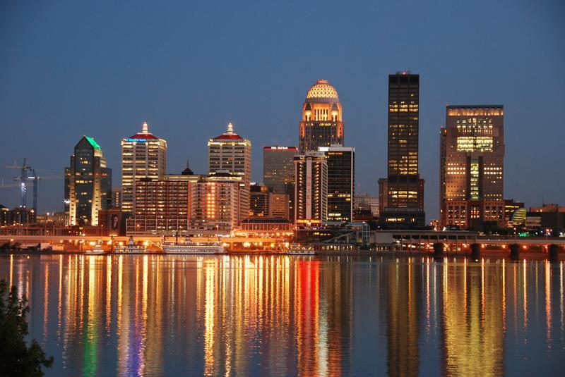 Louisville Skyline Night