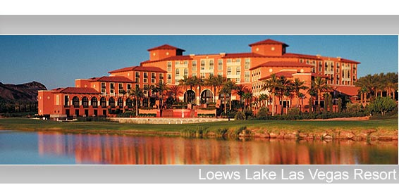 Lake View of Loew Lake Las Vegas Resort