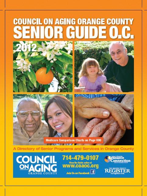 Senior Guide 2012 Cover
