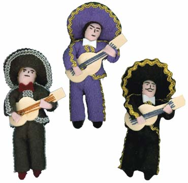 charo doll ornaments