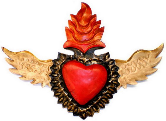 flaming corazon