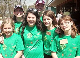Camporee girls