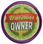 Junior Business Owner badge