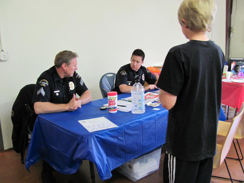 Broomfield police at open house