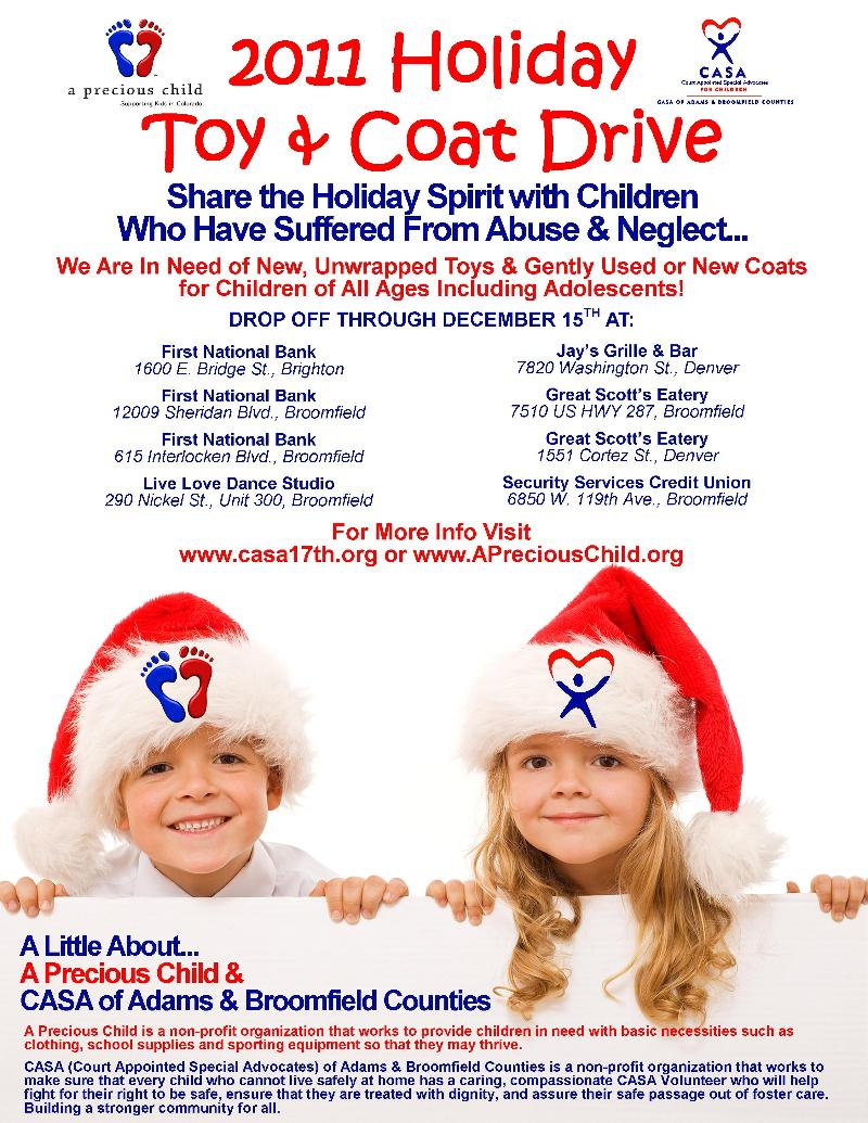 CASA & APC Holiday Toy Drive