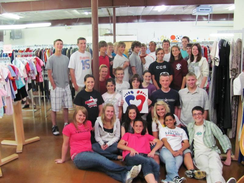 Community Christian School volunteers