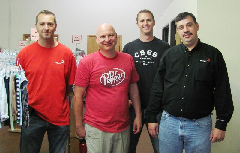 Brocade Volunteers
