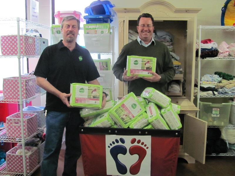 Seventh Generation and Whole Foods diaper donation