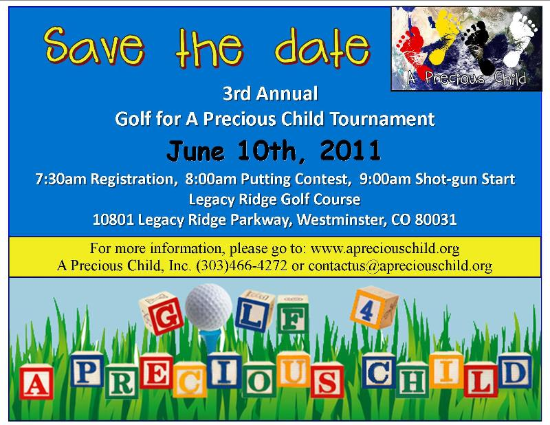 golf save the date 2011
